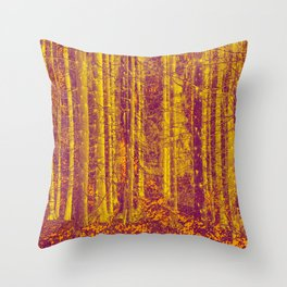 In the middle of the forest #decor #society6 Throw Pillow