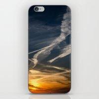 climbing iPhone & iPod Skins featuring climbing by danpaola