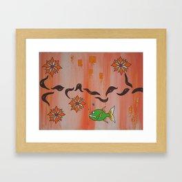 """The Other Side"" Framed Art Print"