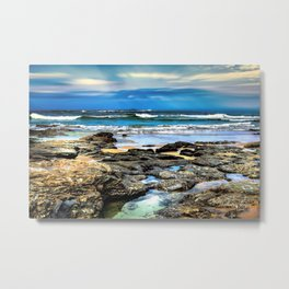 Beachscape, Hungry Head (1) Metal Print