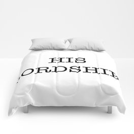 HIS LORDSHIP Comforters