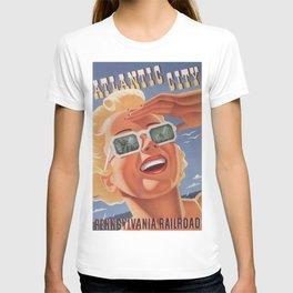 Vintage poster - Atlantic City T-shirt