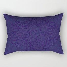 MANDALA BLUE GLOJG Rectangular Pillow