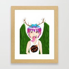 Peryton Framed Art Print