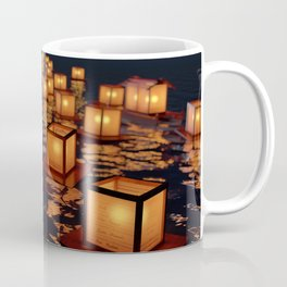 Japanese floating lantern Coffee Mug