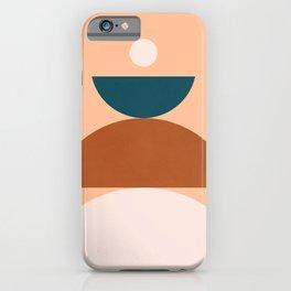 Abstraction_Balance_Shape_Pop_Art_Minimalism_044 iPhone Case