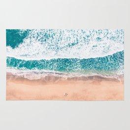 Faded ocean life Rug