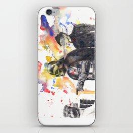 Darth Vader Pointing Leia Star Wars Movie Scene iPhone Skin