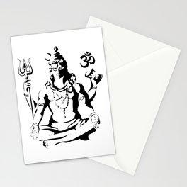 Shiva Drawing Parvati Sketch Stationery Cards