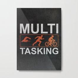 Triathlete Gift Idea Metal Print