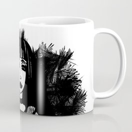 Designer T-Shirt EMO Illustration Coffee Mug