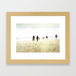 People ~ family Framed Art Print