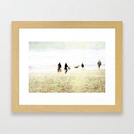 People ~ family Framed Art Print