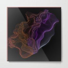 Aurora Borealis Colorants (String Theory #2)  Metal Print