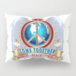 Come Together for Peace Pillow Sham