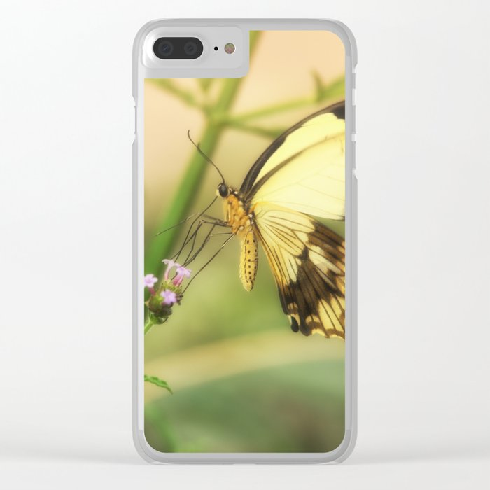 Exotic Butterfly natural beauty Clear iPhone Case