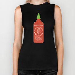 Pass The Yamok Sauce (Opaque Red Ver) Biker Tank
