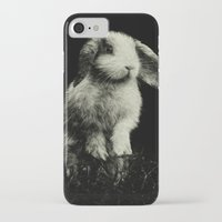 bunny iPhone & iPod Cases featuring Bunny by Digital Dreams