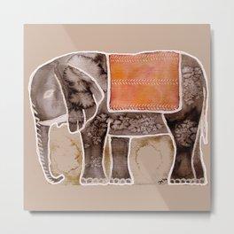 The Elefant Metal Print