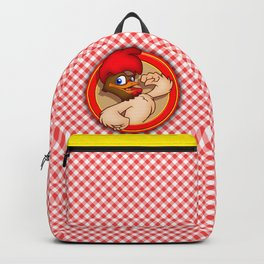 fighten rooster Backpack