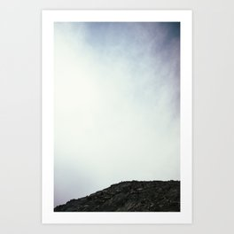 False Summit Art Print