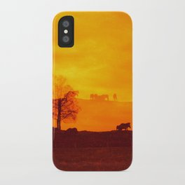 In those first few hours after the dawn iPhone Case