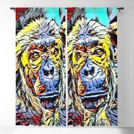 Color Kick - Chimp Blackout Curtain