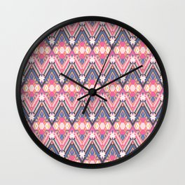 Cotton Candy Field Wall Clock