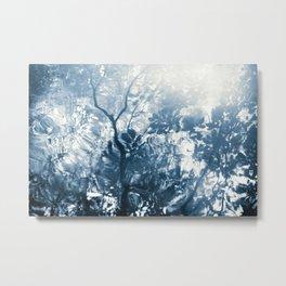 lago de la luz Metal Print