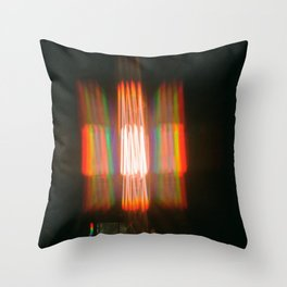 Rainbows in the Rafters Throw Pillow