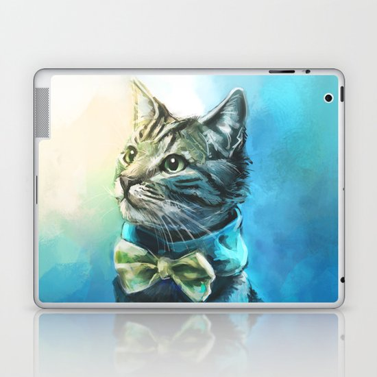 Handsome Cat Laptop & iPad Skin