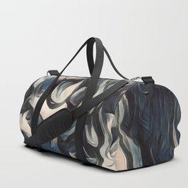 Happy Yorkipoo Art Duffle Bag