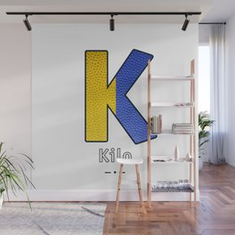 Kilo - Navy Code Wall Mural