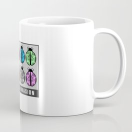 Ladybug Invasion Coffee Mug