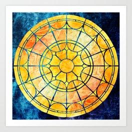 Radiant Sun Art Print