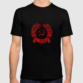 Maki Rakah Israel communist party coat of arms hammer sickle T-shirt