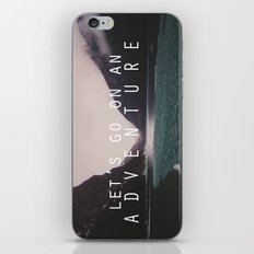 let's go on an adventure. iPhone & iPod Skin