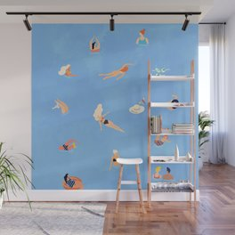 Summer Weekend #painting #illustration Wall Mural