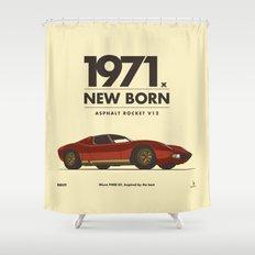 1971 Shower Curtain