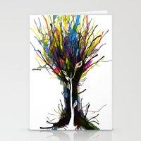 creativity Stationery Cards featuring Creativity by Tobe Fonseca