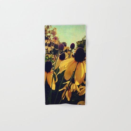 Sunshine and Flowers Hand & Bath Towel
