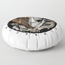 Sic Semper Draconis Floor Pillow