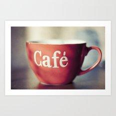 Café Art Print