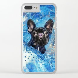 French Bulldog -Frenchie Dog Clear iPhone Case