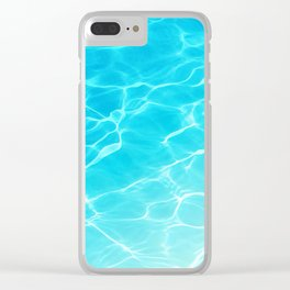 Chasing Summer 01 Clear iPhone Case