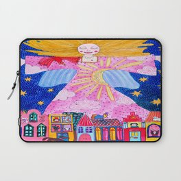 THE GUARDIAN ANGEL Laptop Sleeve