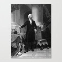 President George Washington Canvas Print