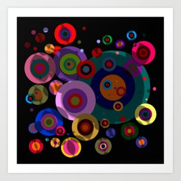 Abstract #320 Art Print