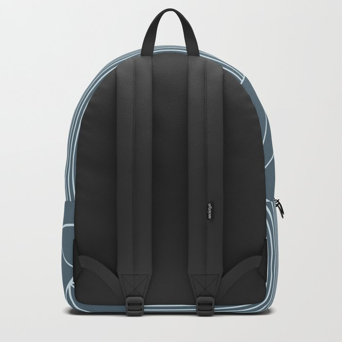 Ab Lines Blues Backpack