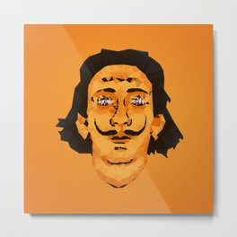 Dali Techy Art Metal Print